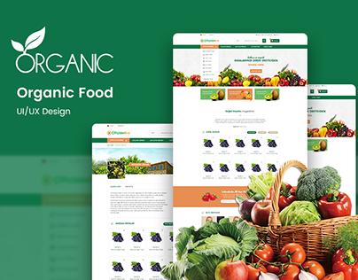 Organic Food - UI/UX Design