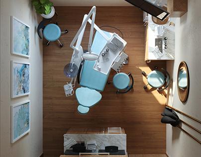 """Oddessy Dental Clinic """"Interior Design"""""""