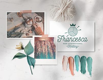 Francesca non conventional knitting