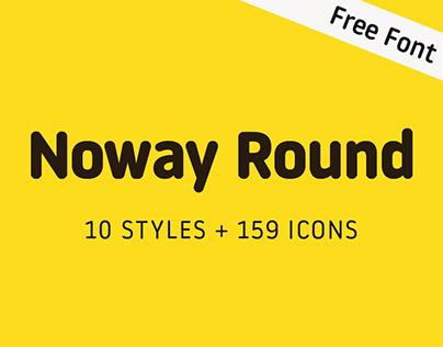 Noway Round + icons