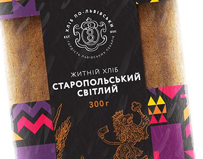 Lviv Bread: Packaging redesign