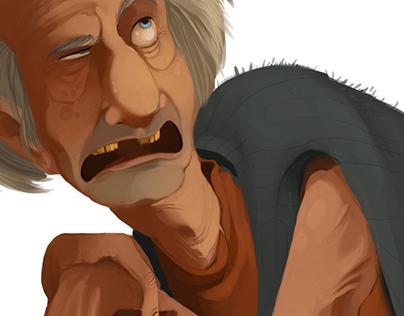 Viejo - Character design
