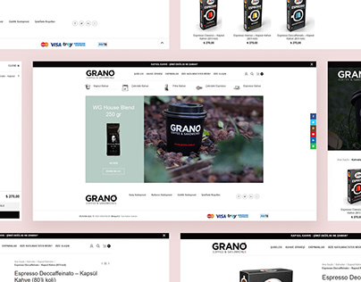 Grano E-Ticaret Projesi
