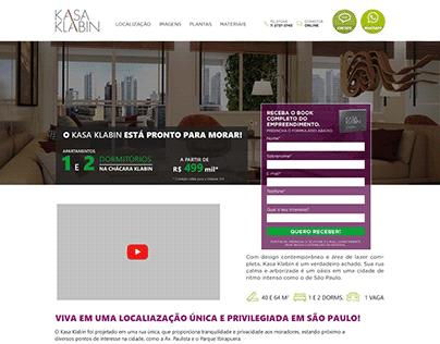 Landin page Kasa Klabin