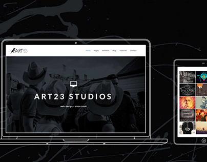 Art23 - Creative Html5 Portfolio Template
