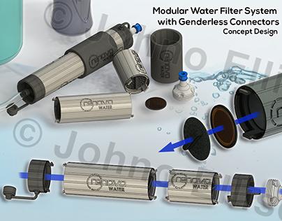 Modular Water Filter System