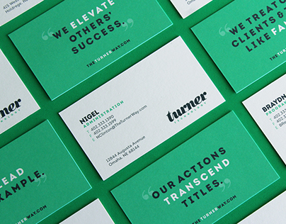 Turner Technology Brand Design