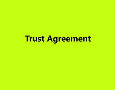 Trust Agreement