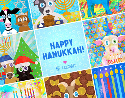 Illustration | Hanukkah Series 2019