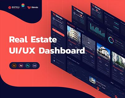 Dlendo Real Estate Fintech UI UX Dashboard Web Design