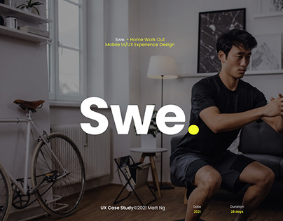 Swe. - Home workout App Mobile Case Study
