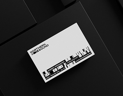 northern sound / visual identity