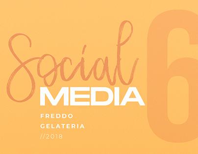 Social media 6 - Freddo Gelateria