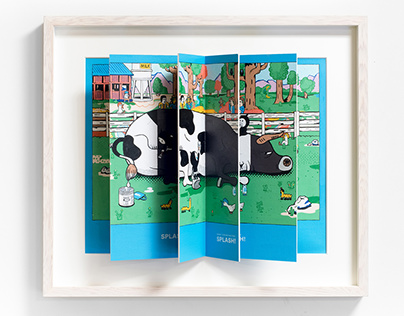 """""""LOWNY"""" PAINTING POPUP BOOK"""