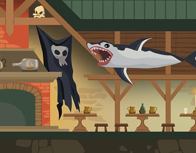 Pirate Game (WIP)