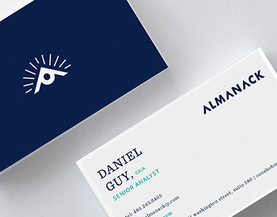 Almanack Business Cards