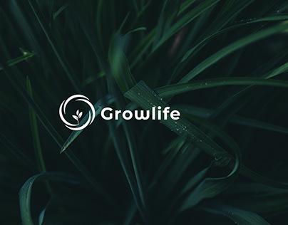 Growlife Logo Branding
