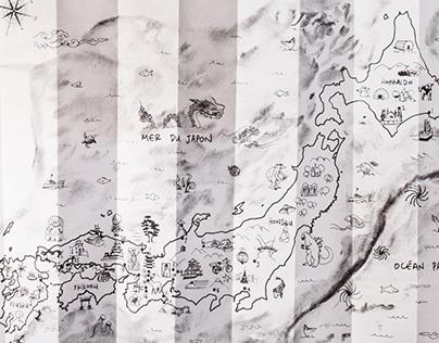 GoolovesJapan - carte du Japon
