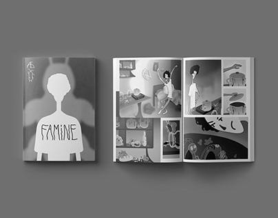 Famine - comic book