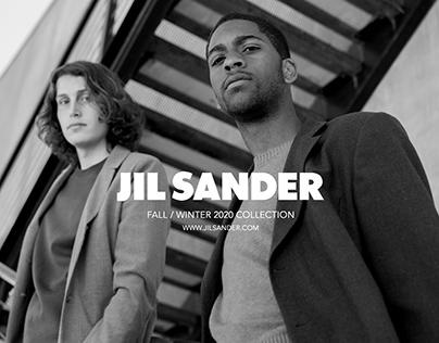 THE URBANITE PROJECT: A JIL SANDER AD CAMPAIGN