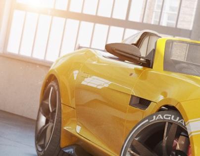 Jaguar -yellow