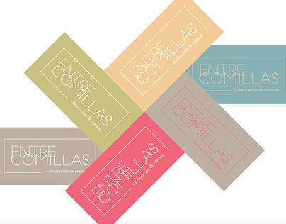 Entre Comillas. Proyecto de Identidad Corporativa.