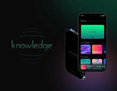 Knowledge IOS App Design