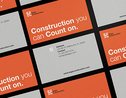 Sage Construction - Brand Identity Design