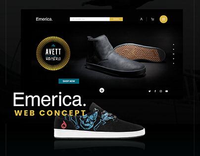Web Concept | Emerica shoes