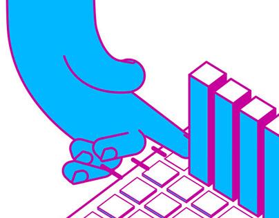 Keyboard play - Self initiated work