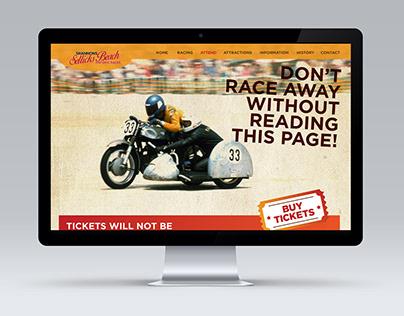 Sellicks Beach Race Website Design