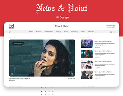 News & Point | UI/UX & Development |