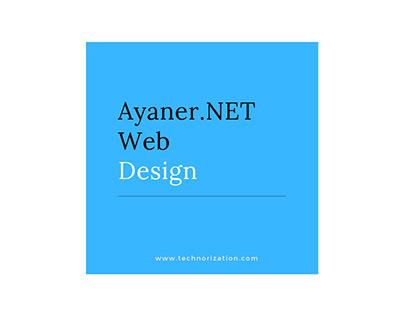 Ayaner.NET Web Design Platform / Short Explain With GIF