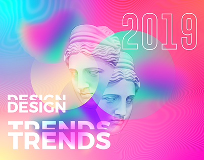 Design Trends 2018 on Behance