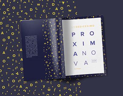 Proxima Nova | Font Booklet