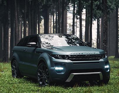 Range Rover   Full CGI