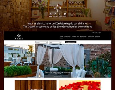 Azur Real Hotel | Desarrollo Web
