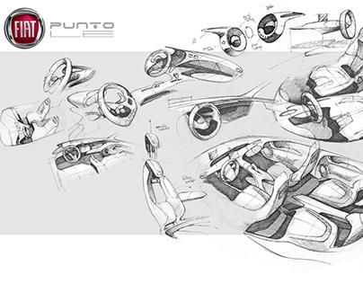 Fiat Punto LE (Interior Project)
