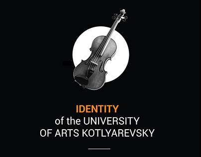 IDENTITY of the University of Arts