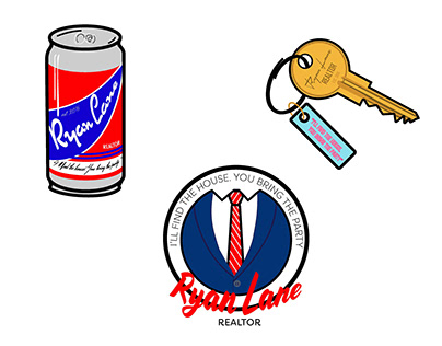 Ryan Lane Marketing Stickers