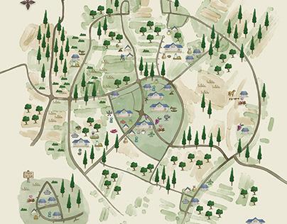 Map for a Local boutiqueFair