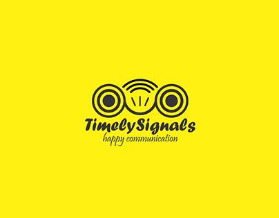Timely Signals Logo Design