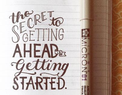 Sketchbook • Quotes | (2015)