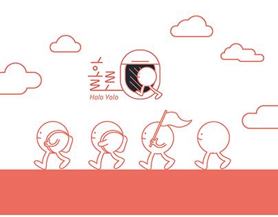 1인 여행사,'홀로' 브랜드 디자인 HOLO TRAVEL AGENCY BRAND DESIGN