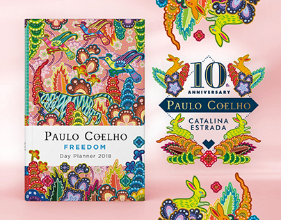 "PAULO COELHO ""FREEDOM"" 2018 DAY PLANNER"