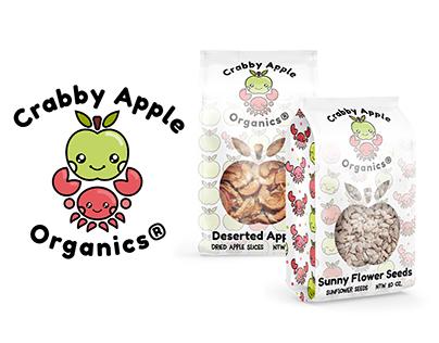 Crabby Apple Organics Branding Project