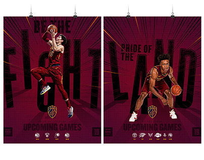 19-20 Cavaliers Be The Fight Campaign Art