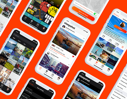 Steepshot | iOS App Redesign