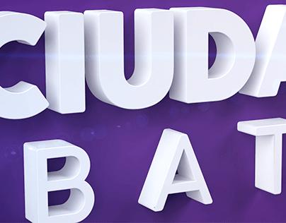 LA CIUDAD DEBATE - 2019