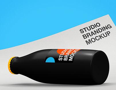 Studio branding mockup